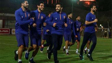 الأهلي يواصل تدريباته استعدادًا لمواجهة المقاولون في الدورى المصري