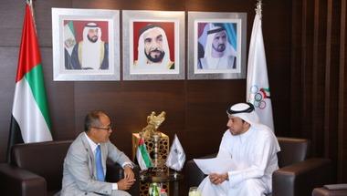 القنصل الياباني يعد بتسهيل مشاركة الوفد الإماراتي في أولمبياد طوكيو