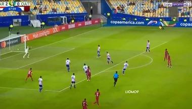 هدف قطر الأول الرائع في مرمى باراجواي (2-1) كوبا أمريكا - بالجول