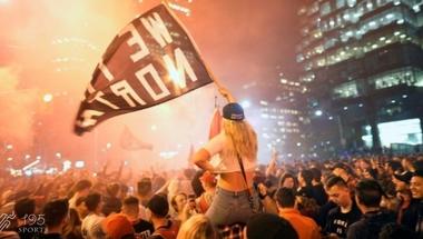 2 مليون في تورونتو يحتفلون بفوز رابتورز بالدوري الأمريكي - 195 سبورتس