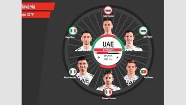 بوجاتشار يقود فريق الإمارات في جولة سلوفينيا