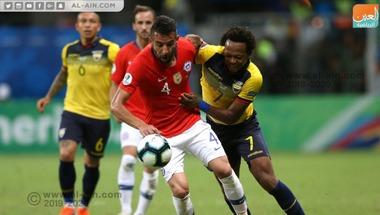 تشيلي تتصدر مجموعتها بفوز مثير على الإكوادور في كوبا أمريكا