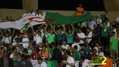 صور : الجمهور الجزائري يملأ المدرجات