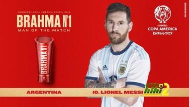 صورة : ميسي رجل مباراة الأرجنتين و قطر