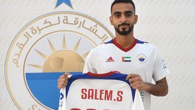سالم سلطان: أستهدف التتويج بكل البطولات مع الشارقة