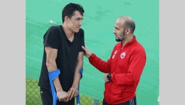 لاعب الشارقة شكوروف: سأعود الى الملاعب قبل بداية الموسم