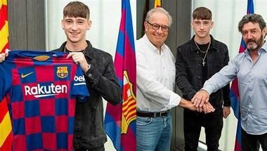برشلونة يعلن عن صفقة جديدة