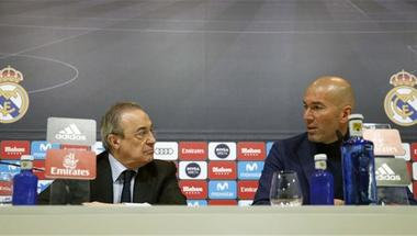 انقسام في ريال مدريد بين زيدان وبيريز بسبب نيمار