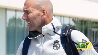 سبب مغادرة زيدان لمعسكر ريال مدريد ..؟