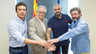 رسميا.. برشلونة يعلن عودة فالديز مدربا لفريق الشباب