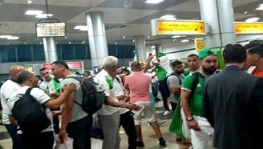 استدعاء القوات الخاصة في مطار القاهرة بسبب جمهور الجزائر