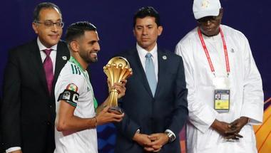 إنفوجراف.. محرز يقود التشكيلة المثالية لكأس الأمم الأفريقية 2019