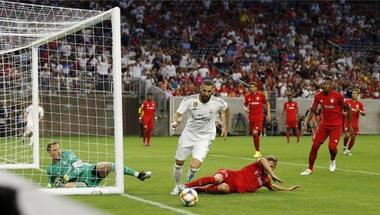 فيديو | بنزيما يهدر فرصة هدف لا تصدق في مباراة ريال مدريد وبايرن ميونخ
