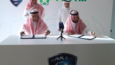 الهلال يوقع عقد شراكة مع شركة S-TEAM