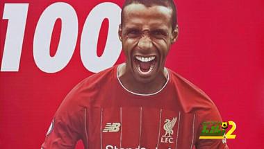 المباراة رقم 100 لماتيب مع ليفربول