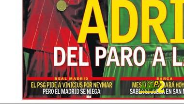 غلاف الآس : ريال مدريد يرفض المبادلة