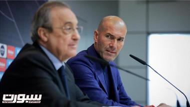 زيدان يهدد بالرحيل عن ريال مدريد