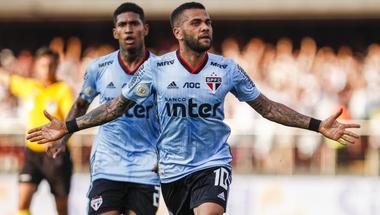ألفيس يفتتح سجل أهدافه مع ساو باولو