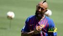 برشلونة يرفض انتقال فيدال للإنتر