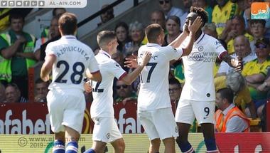 تشيلسي يحقق فوزه الأول مع لامبارد بالدوري الإنجليزي أمام نوريتش