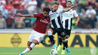 ميلان يسقط مبكرا في الدوري الإيطالي أمام أودينيزي | سعودى سبورت