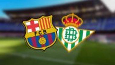 هدف ريال بيتيس الأول ( برشلونة × ريال بيتيس ) الدوري الإسباني