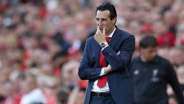 إيمري يرفض التشاؤم رغم هزيمة أرسنال بثلاثية أمام ليفربول