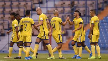 عبد الرحمن الدوسري يسجل هدف التعادل لـ النصر في شباك السد بدوري أبطال أسيا