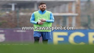 ميسي يواصل التدرب منفرداً قبل العودة مع برشلونة