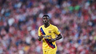أخبار برشلونة.. ديمبلي يستغل إصابته لمتابعة مانشستر يونايتد -  سبورت 360 عربية