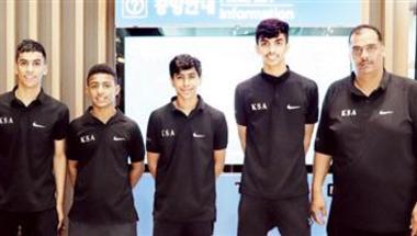 المنتخب السعودي لكرة الطاولة يشارك في نهائيات آسيا للناشئين