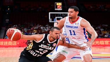 """منتخب الأردن يخسر ضربة بداية كأس العالم لكرة السلة.. لكن """"الأداء مشرف"""""""