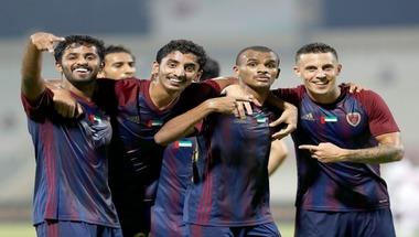 الوحدة يهزم الشارقة بثلاثية في كأس الخليج العربي