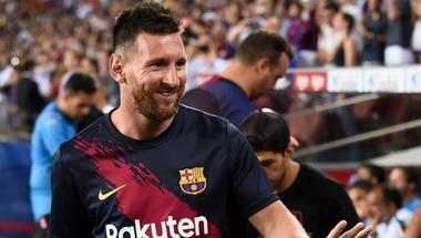 برشلونة يرفض المغامرة بميسي أمام فالنسيا