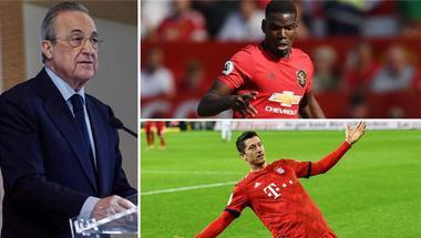 رئيس ريال مدريد: فشلنا في ضم ليفاندوفسكي مثلما حدث مع بوجبا