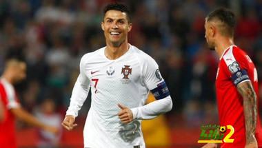 تطور تهديفي رهيب لرونالدو مع منتخب البرتغال