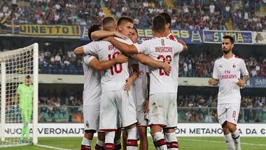ميلان يحقق فوزا صعبا على فيرونا في الدوري الإيطالي