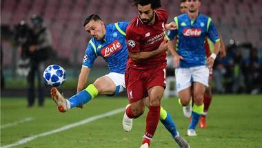 ماذا قدم محمد صلاح في مسيرته أمام نابولي قبل مباراة ليفربول اليوم بدوري أبطال أوروبا؟