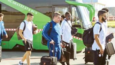 الشباب يغادر إلى الجزائر بدون بالعمري وشراحيلي