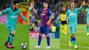 مثلث برشلونة الجديد على أعتاب ظهوره الأول في الليجا