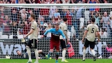 ويستهام يفوز على مانشستر يونايتد بثنائية في الدوري الإنجليزي - صحيفة صدى الالكترونية