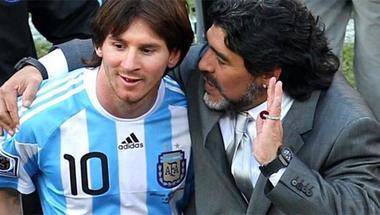مارادونا: علّمت ميسي تنفيذ الركلات الثابتة ومنذ ذلك الحين وهو يعلّق الحراس