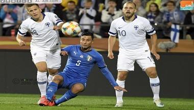 إيطاليا تقتنص فوزا صعبا من فنلندا في يورو 2020