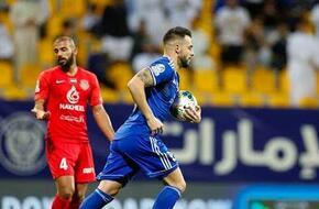 النصر يتوج بلقب كأس الخليج العربي الإماراتي بفوزه على شباب الأهلي دبي - الرياضة