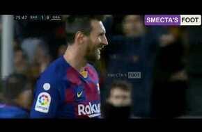 فيديو.. برشلونة يتخطى عقبة غرناطة بـ هدف ميسي في الدوري الإسباني