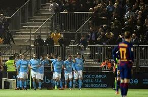 فيديو  إيبيزا يُفاجئ برشلونة بالهدف الأول مُبكرًا في كأس ملك إسبانيا - الرياضة
