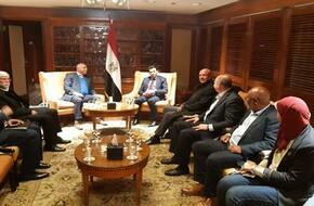 وزير الرياضة يلتقي وفد المنظمة الدولية لمكافحة المنشطات - الرياضة