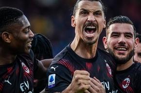 التشكيل الرسمي| إبراهيموفيتش يقود هجوم ميلان أمام بريشيا في الدوري الإيطالي - بالجول - الرياضة