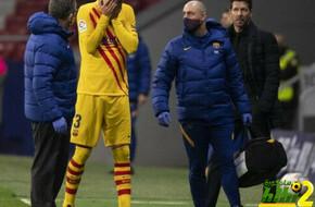 برشلونة يكشف رسميًا طبيعة إصابة بيكيه القوية - الرياضة