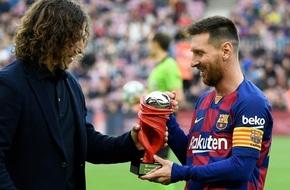 بويول: ميسي باق في برشلونة حتى سن الـ38 عاما - الرياضة